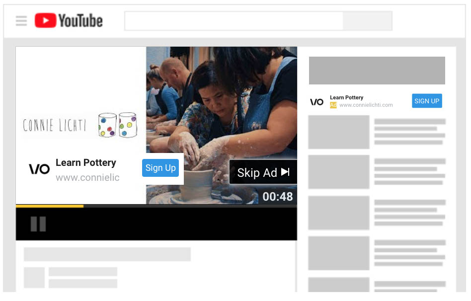 Example of Video Outcomes Youtube Video Advertisement