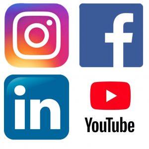 Social Media Logos for Video Outcomes Melbourne based social media advertising agency