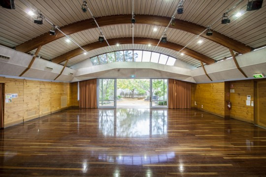Example of venue hire for video productionthe Arbour in Box Hill Community Center