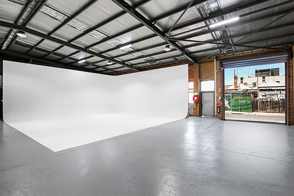 Monster and Bear Studios 500SM warehouse space for filming video and film productions