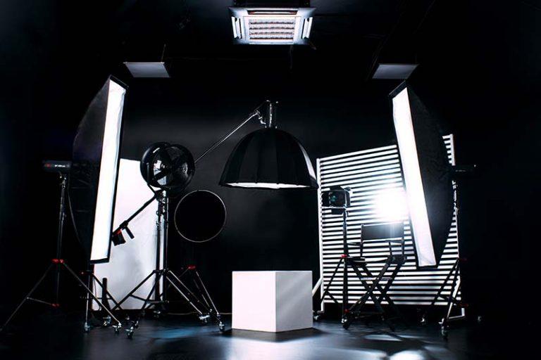 video production product studio setup