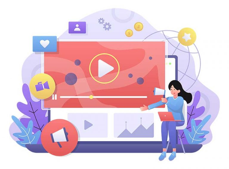 Video Outcomes Video Marketing Statistics Graphic