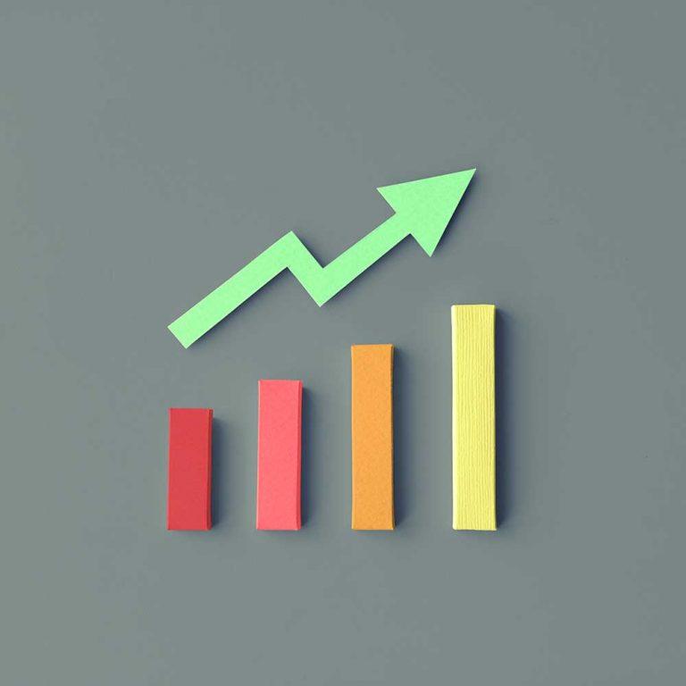 Video Outcomes Upward Video Marketing Trend Graphic