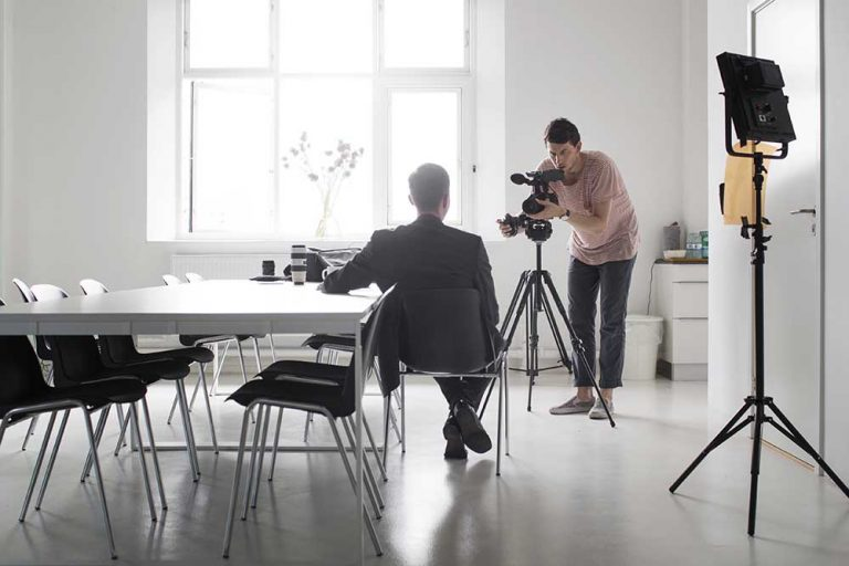 Video Tips: How to Look and Sound Great in a Corporate Interview Video