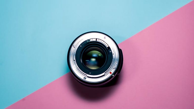 photo of ideal lens used for corporate interviews and testimonials